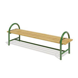 Скамейка парковая без спинки L 01