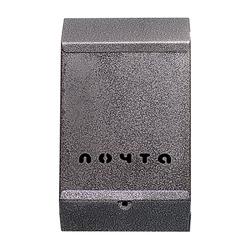 Почтовый ящик без замка (серебро)