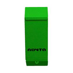 Почтовый ящик Столбик (зеленый) без замка