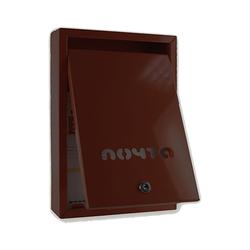Почтовый ящик Альфа (коричневый)