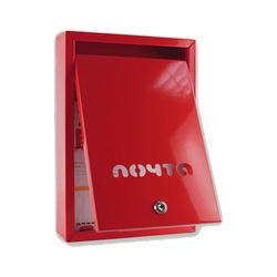 Почтовый ящик Альфа (бордовый)