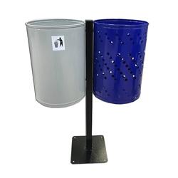 Урна для раздельного сбора мусора Дуэт
