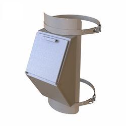 Клапан мусоропровода КМЕ 400, h=860 загрузочный