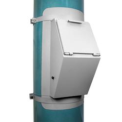 Клапан приёмный мусоропровода d400