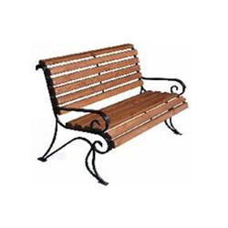 Кованая скамейка со спинкой (артикул 5.0)