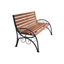 Кованая скамейка со спинкой (артикул 6.0)