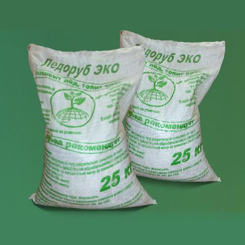 Противогололедный реагент Ледоруб ЭКО 25 кг