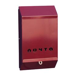 Почтовый ящик без замка (бордовый)