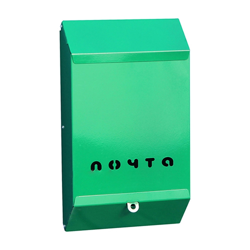 Почтовый ящик без замка (зеленый)