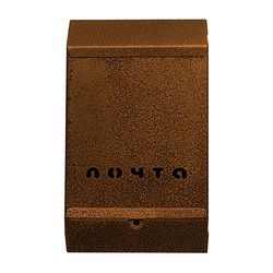 Почтовый ящик без замка (бронза)