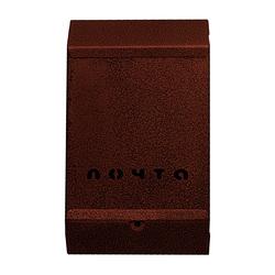 Почтовый ящик без замка (медь)