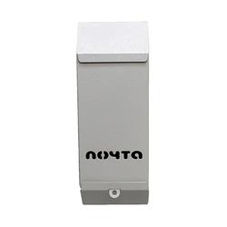 Почтовый ящик Столбик (серый) без замка